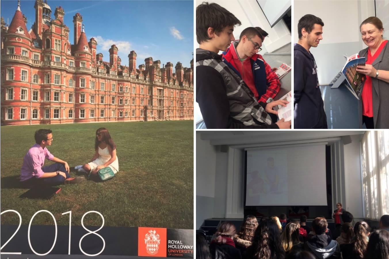 Royal Holloway, University of London visit to Zlatarski International School of Sofia