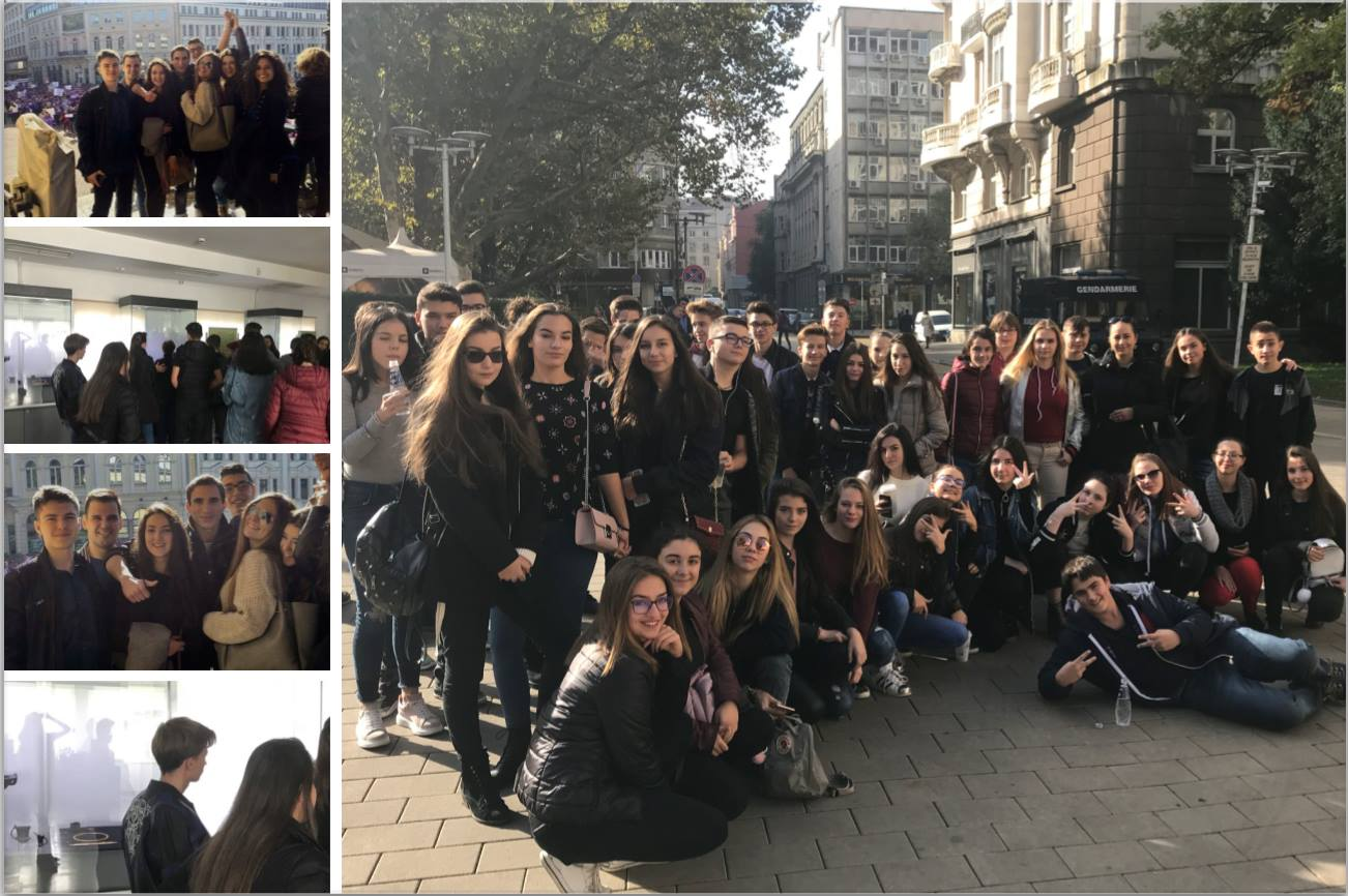 Students of Zlatarski International School of Sofia visit Museums and Theatre plays