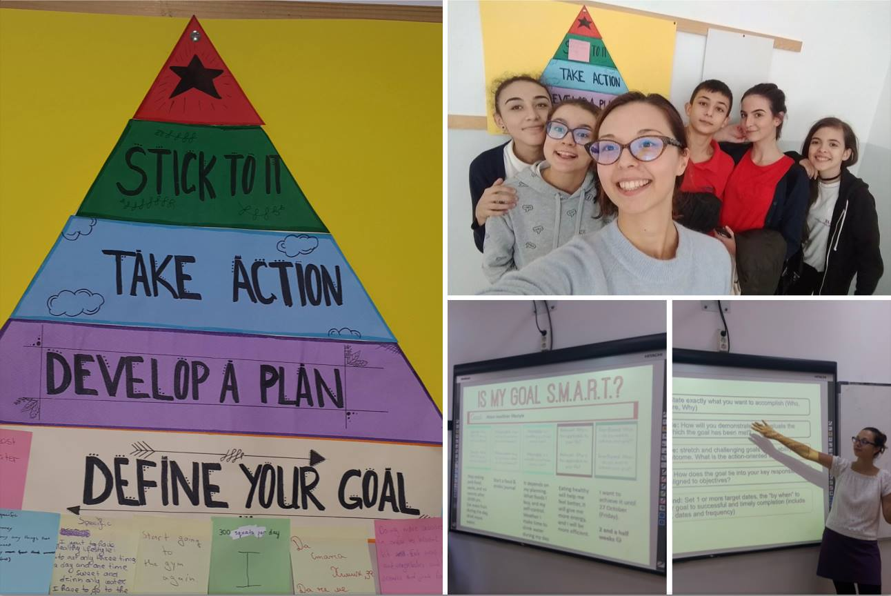 SMART goals for personal development in Grade 9 at Zlatarski International School of Sofia
