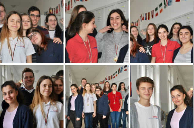 Zlatarski International School students in a debates tournament