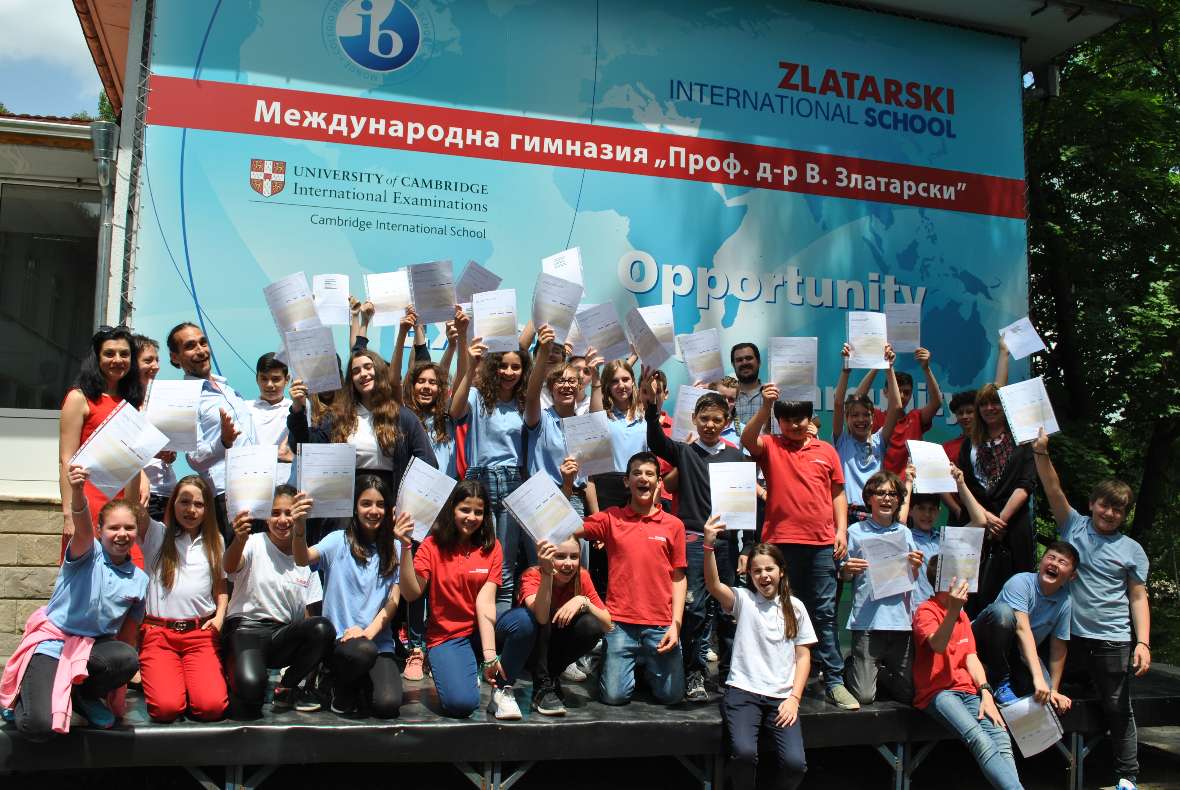 Successful performance in Cambridge Secondary exams by 5-7 grade at Zlatarski International School