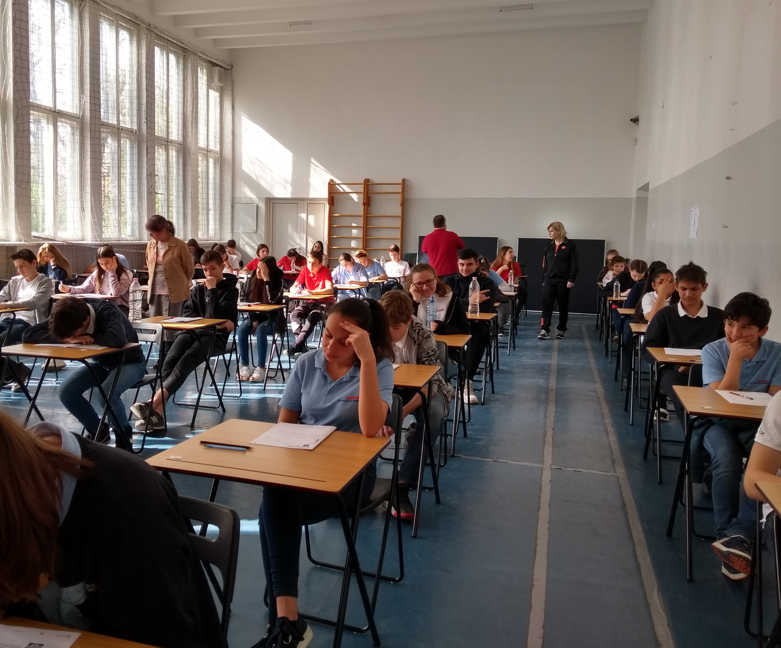 Cambridge Checkpoint 2019 for 8 grade students at  Zlatarski International School