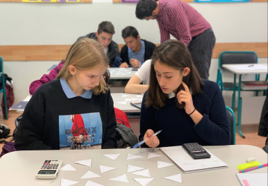 Excellent results in the Cambridge Checkpoint exams after Grade 8 in 2020