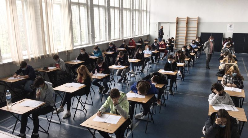 Our 8th Grade students sits tests in the Cambridge Checkpoint programme